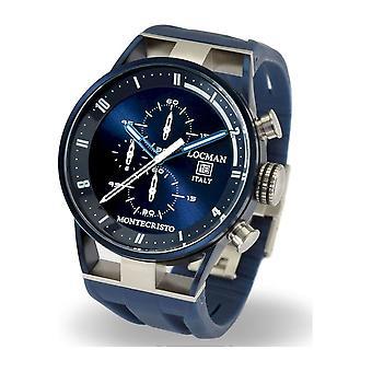 LOCMAN - Wristwatch - Men - 0510BLBLFWH0SIB - MONTECRISTO QUARTZ CHRONOGRAPH