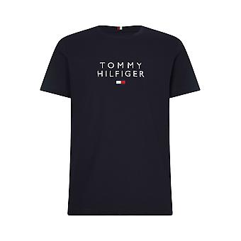 Tommy Hilfiger staplad T-shirt Desert Sky