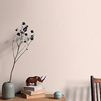 Elle Decoration Plain Textured Wallpaper Blush Pink 1017105