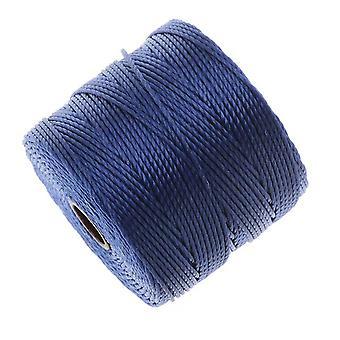 سوبر لون (S-لون) الحبل - حجم #18 النايلون الملتوية - Periwinkle الأزرق / 77 ياردة