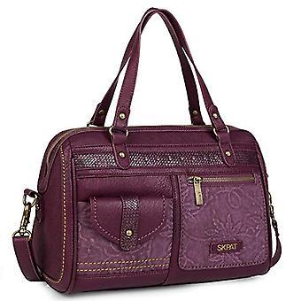 SKPAT - Handväska i konstläder. Dubbelt handtag. Justerbar och avtagbar remsa. Bekväm och hållbar. Ref. Ritning 8435583505765