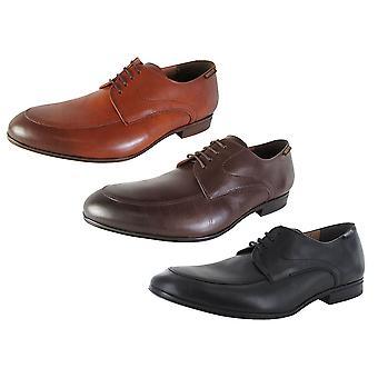 Mephisto Mens Tobias Leather Apron Toe Oxford Shoes