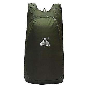 Kevyt pakkaus reppu taitettava ultrakevyt ulkona kätevä matkapäiväpakkaus vedenpitävä laukku