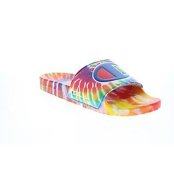 Champion Adult Mens IPO Tie Dye Slides Sandals