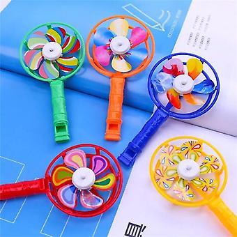 Kids Windmill, Whistle Toy, Adereços de Festa de Desenvolvimento Musical