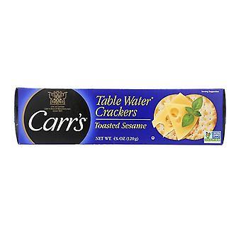 Carr ' s Table vann kjeks ristet sesamfrø