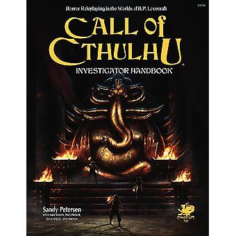 Call of Cthulhu 7th Edition Investigator's Handbook Hardbook