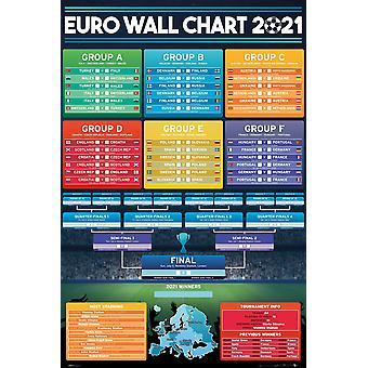 Euro Wall Chart Maxi Poster 61x91.5cm