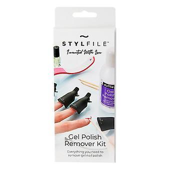 Conjunto cosmético unissex Stylideas removedor de esmalte