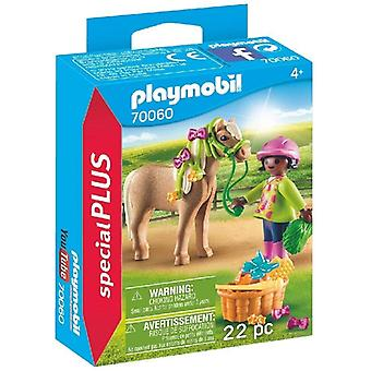 Playmobil Special Plus Girl With Pony Playset