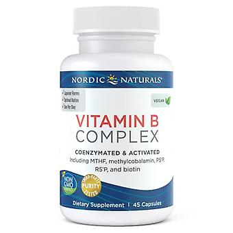 Nordic Naturals Vitamin B Complex, 45 Count