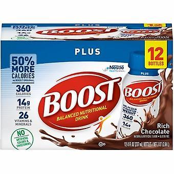 Nestlé Healthcare Nutrition Boost Plus Boisson nutritive Chocolat riche, 1 chacun