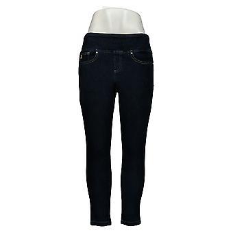 Belle af Kim Gravel Women's Petite Jeans Pull-On Knit Jeggings Blue A284898