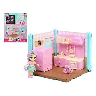 Doll's House Barmila Kitchen 112610 Pink