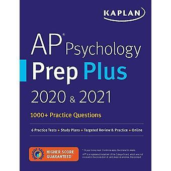 AP Psychology Prep Plus 2020 amp 2021  6 Practice Tests  Study Plans  Review  Online by Kaplan Test Prep