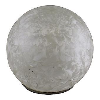 Litet fjäderglas kupol LED-ljus