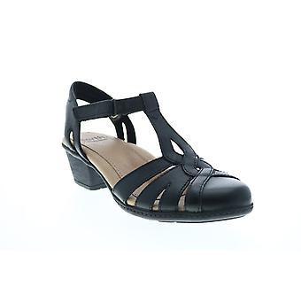 Earth Adult Womens Marietta Capella Leather Strap Heels