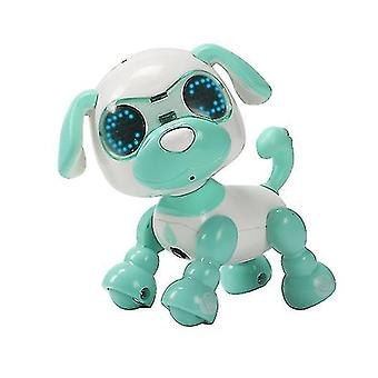 Children's smart pet dog induction touch electric toy(Green)