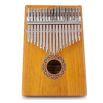 كاليمبا الإبهام البيانو 17 مفاتيح المبتدئين المحمولة آلة موسيقية