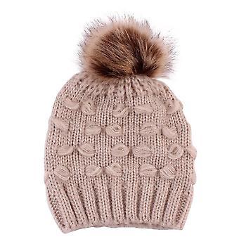 Baby & Mom Winter Knit Warm Soft Beanie Hat