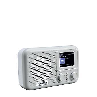 Roberts Radio PLAYM4 DAB/DAB+/FM Digital Radio with 2 Alarms - Grey