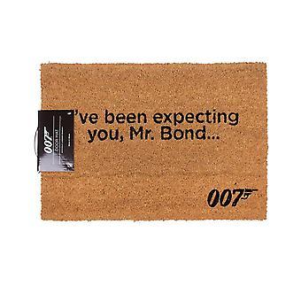 James Bond officiella Ive väntat du dörr matta