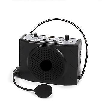Mini altoparlante portatile Bluetooth Record Usb Tf Fm (nero)