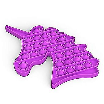 Magic novelties 2 pcs stress reliever pop on its silicone squeeze toy