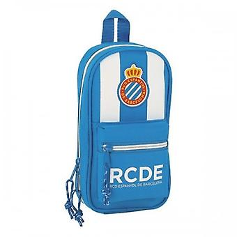 Backpack Pencil Case Rcd Espanyol Blue White (33 Pieces) 36244 36244 36244
