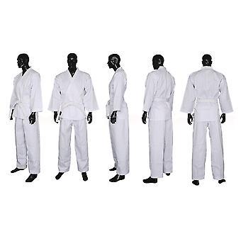 Karate Kleding Katoen-polyester Driekwart mouwen Toernooi Volwassenen Kinderen