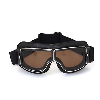 Gafas retro Gafas de cuero para motocicleta 2