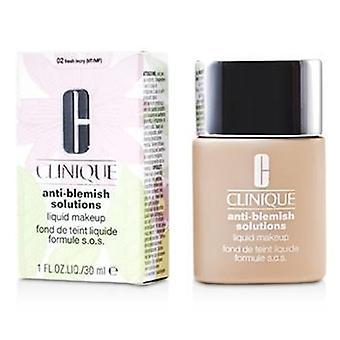 Clinique анти порока жидкий макияж решения - # 02 свежие цвета слоновой кости - 30ml / 1oz