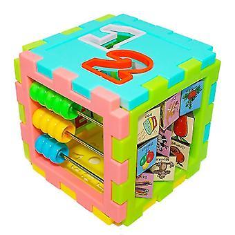 Geometry Shape Matching Number Building Blocks Cube