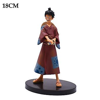 Cartoon Doll Anime Characters Luffy Pvc Action Doll Series Model Toys