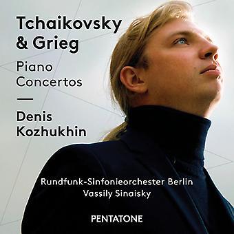 Grieg, Edvard / Kozhukhin, Denis / Sinaisky, Vassily - Tchaikovsky & Grieg: Piano Concertos [SACD] USA import
