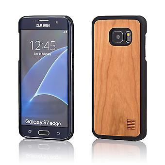 32 ° in legno fondello per Samsung Galaxy S7 Edge (SM-G935) - pera