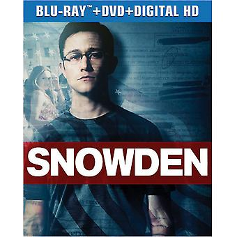 Snowden [Blu-ray] USA import