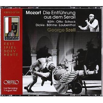 W.a. Mozart - Mozart: Die Entf Hrung Aus Dem Serail [CD] USA import