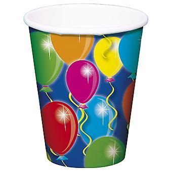 Festa Coppa palloncino disegno 8 pz compleanno decorazione festa Cup