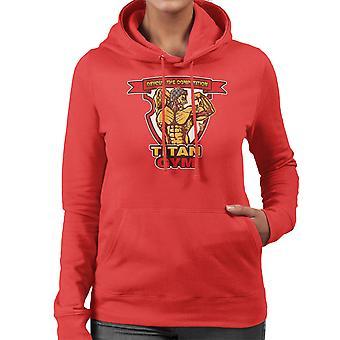 Titan Gym Attack On Titan Women's Hooded Sweatshirt
