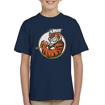 Eye Of The Street Tiger Guile Fighter Kid's T-Shirt