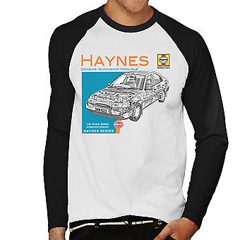 Haynes Owners Workshop Manual 1923 Ford Mondeo Men's Baseball Long Sleeved T-Shirt