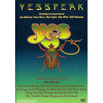 Sí - importación de Estados Unidos Yesspeak [DVD]