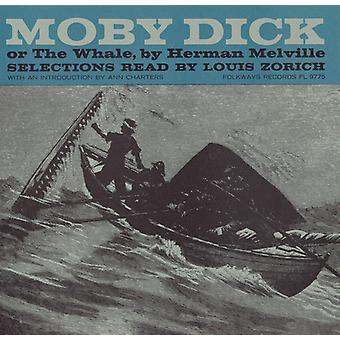 Louis Zorich - Moby Dick: Selections Read by Louis Zorich [CD] USA import