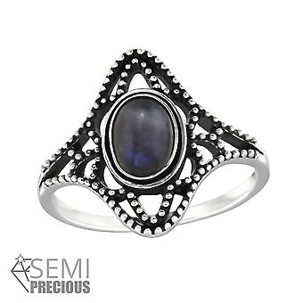 Sodalite - 925 Sterling Silver Jewelled Rings - W32326X