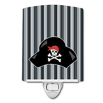 كارولين BB8979CNL كنوز القراصنة قبعة ليلة السيراميك الضوء