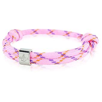 Skipper armbånd surfer band node maritimes armbånd pink/violet 6781