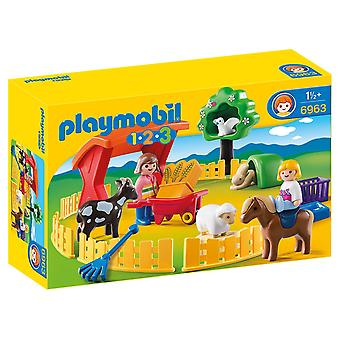 Playmobil 6963 1.2.3 Petting Zoo