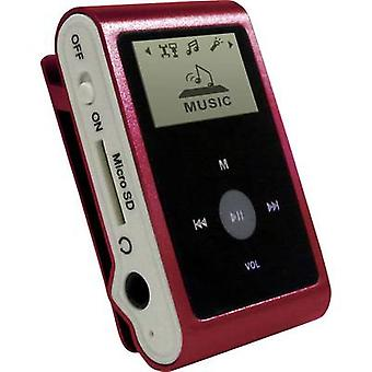 mpman MP30WOM MP3 player 0 GB Red Clip