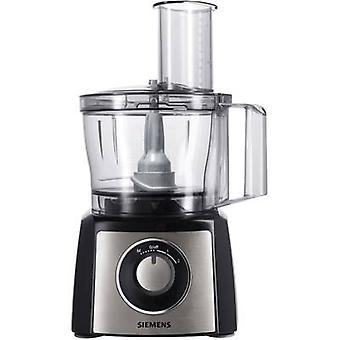 Siemens MK3501M Food processor 800 W Black, Stainless steel (brushed)